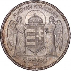 Hungary - Horthy Miklós (1920-1944) 5 Pengő 1930 BP