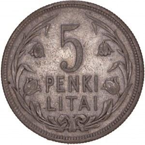 Lithuania Republic - 5 Litai 1925