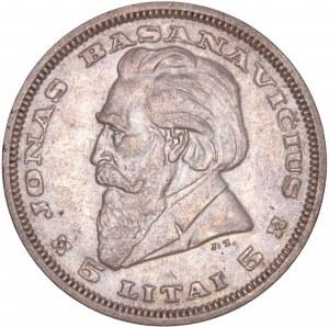 Lithuania Republic - 5 Litai 1936