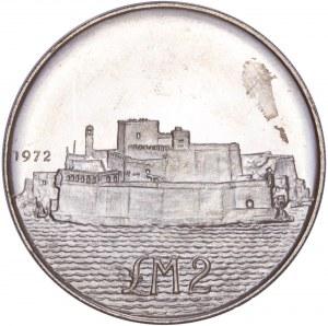 Malta Republic - 2 Pounds 1972