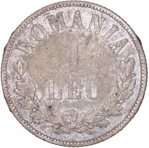 Romania - Carol I. (1866-1914) 1 Leu 1873