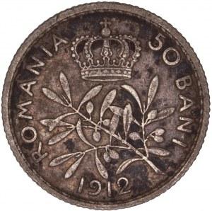 Romania - Carol I. (1866-1914) 50 Bani 1912