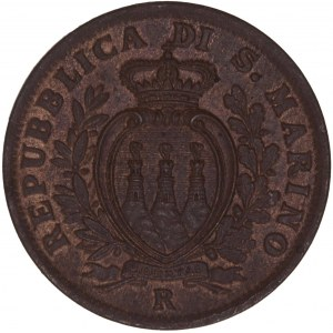 San Marino – 5 Centesimi 1935