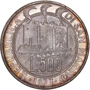 San Marino – 500 Lire 1977
