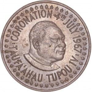 Tonga - 2 Pa'anga - Taufa'ahau Tupou IV Coronation 1967