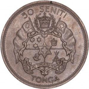Tonga - 50 Seniti - Taufa'ahau Tupou IV 1968
