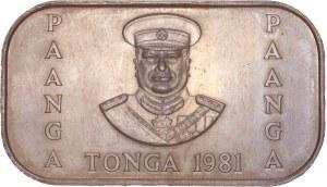 Tonga - 1 Pa'anga - Taufa'ahau Tupou IV FAO 1981