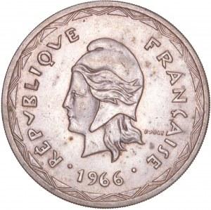 Vanuatu - 100 Francs 1966