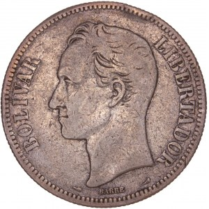 Venezuela - 5 Bolivares 1911