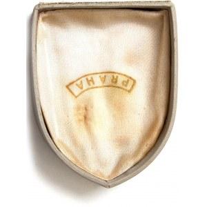 CZECHOSLOVAKIA – Vintage c1960 SOLUNA, Miniature Crown Jewels In Box 900 Hallmarked