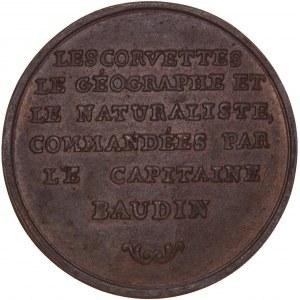 France, Galvanoplastie de la médaille an 9