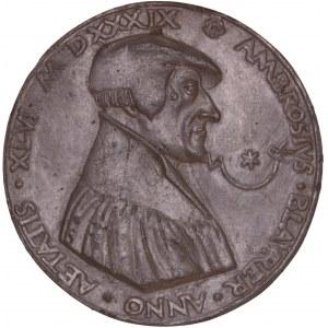Esslingen, Galvano Medaille 1539, Ambrosius Blarer