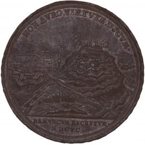 Bayern, Zinngussmedaille 1695