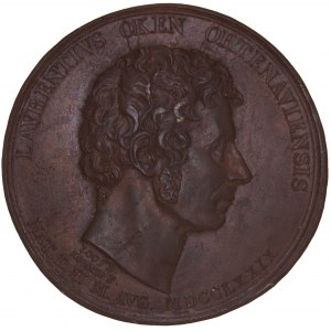 Offenburg, Bronzierter Galvano der Medaille o.J. (1833)