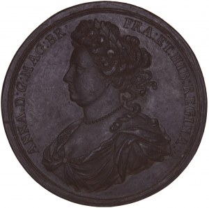 Great Britain, Electrotype medal 1708