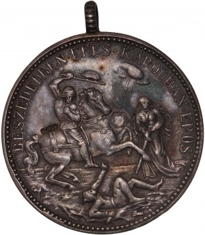 Hungary – Silver Medal (1892), On the 700th anniversary of the canonization of St. Ladislav