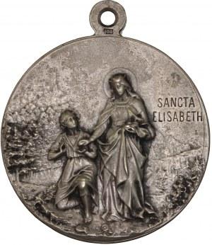 Hungary – Silver Medal 1900 St. Elizabeth – Hungarian Patrona