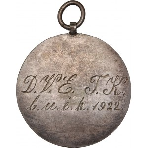 Hungary – Silver Medal – Morelli Gusztav (1848-1909) – Standing Hungaria