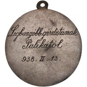 Vintage O Mi Jesu Misericordia Sacred Heart Medal