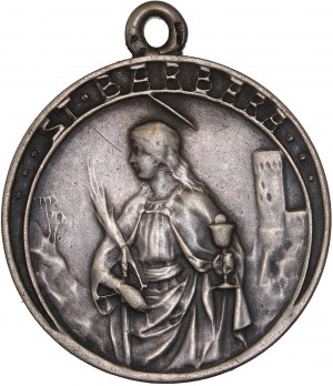St. Barbara Religous Medal