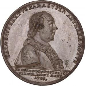 Stato pontificio, Galvanoplastica della medaglia 1782