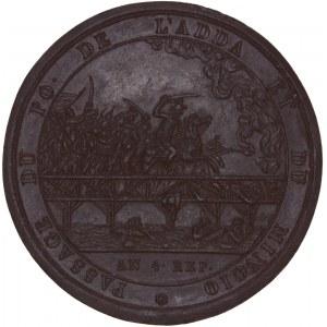 Italia, Galvanoplastica della medaglia 1796