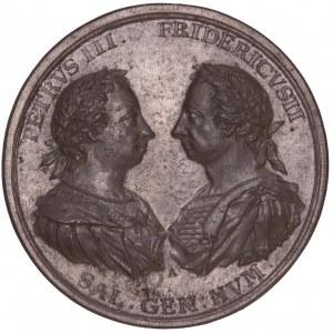Russland, Galvano der Medaille 1762