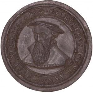 Zürich, Galvano der Medaille 1566