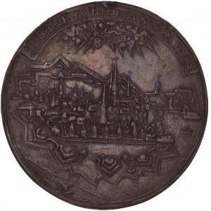 Zürich, Galvano des Ehepfennigs o.J. (nach 1678)
