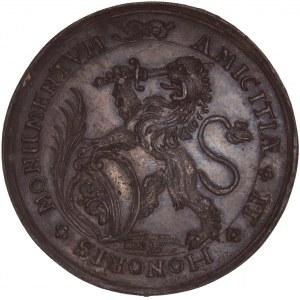 Zürich, Galvano der Verdienstmedaille o.J. (um 1680)