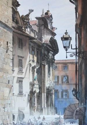 Paweł DMOCH, Piazza San Firenze