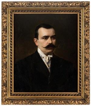 Ferdynand Bryll (1863-1920), Portret ALEKSANDRA HRABIEGO KRZYWICKIEGO, 1895 r.