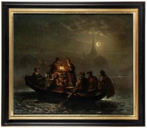 Louis Toussaint (1826 Królewiec - 1921), Na łodzi