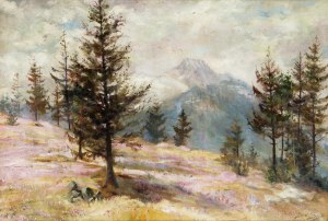 Sylweriusz Saski (1864 Nottingham – 1954 Kraków), Wrzosowisko, 1932 r.