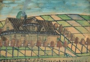Nikifor Krynicki (1895 Krynica-1968 Folusz), Krynica wieś