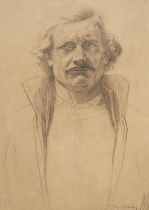 Piotr Stachiewicz (1858 Nowosiółki/Podole - 1938 Kraków), Portret Bartosza Głowackiego