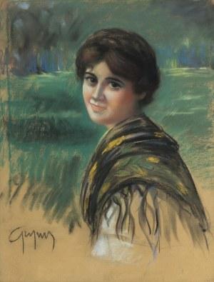 Stanisław Grzyms (I poł. XX w.), Portret kobiecy