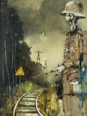 Jerzy Duda-Gracz (1941 Częstochowa - 2004 Łagów), Serdeczne pozdrowienia z Łagowa, 1994 r.
