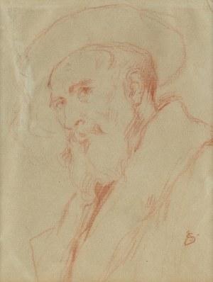 Jan Styka (1858 Lwów - 1925 Rzym), Autoportret