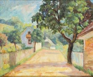 Jadwiga Hawelke-Buharewicz (1892-1966), Droga w słońcu, 1938 r.
