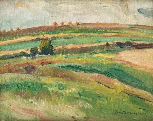 Jan Bednarski (1891 - 1956), Stogi siana