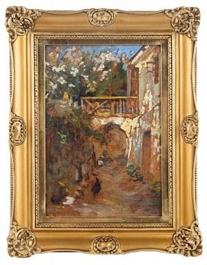 Alexander Jakimczuk (1899 Korzec na Wołyniu- 1970), Miasteczko włoskie