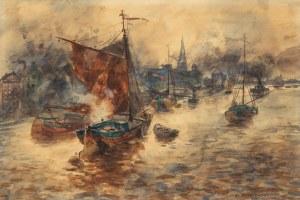 Erich Nikutowski (1872 Düsseldorf - 1921 Kaub nad Renem), W porcie