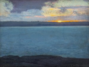 Ludwik Lewandowski (1879 Warszawa - 1934 Paryż), Zachodzące słońce