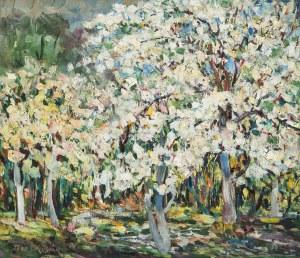 Tadeusz Sprusiak (1907-1985), Kwitnące jabłonie