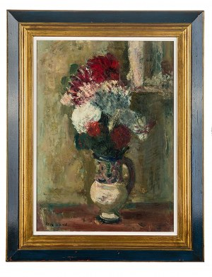 Max Band (1900 Naumestis/Litwa - 1974 Kalifornia), Kwiaty w wazonie