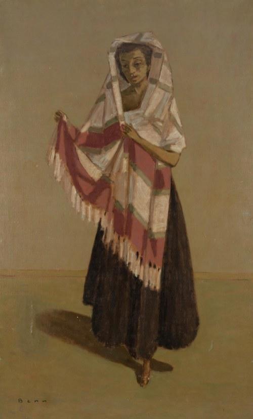 Bencion(Benn) Rabinowicz (1905 Białystok - 1989 Paryż), Tańcząca