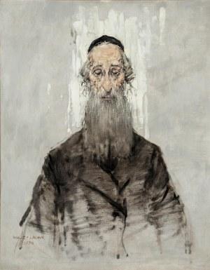 Maciej Lachur (1927 Zagórze – 2007 Otwock), Rabin z Cyklu Getto, 1994 r.