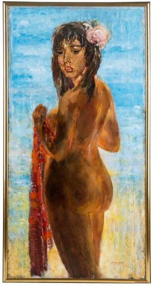 Maciej Lachur (1927 Zagórze – 2007 Otwock), Akt, 1974 -78 r.