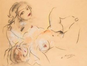 Ludwik Klimek (1912 Skoczów - 1992 Nicea), Monique